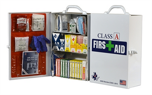 Class A First Aid Kit/Cabinet - 25 person - Avid Safety