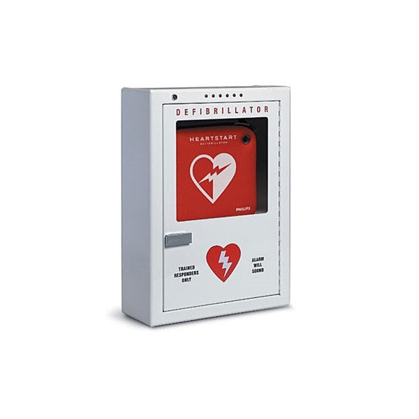 Philips Defibrillator Cabinet, Wall Surface - Avid Safety
