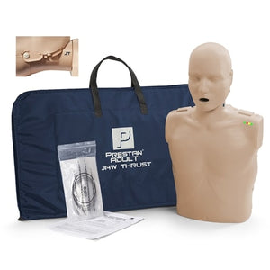 Prestan Professional Jaw Thrust Manikin Adult (Single) - Avid Safety