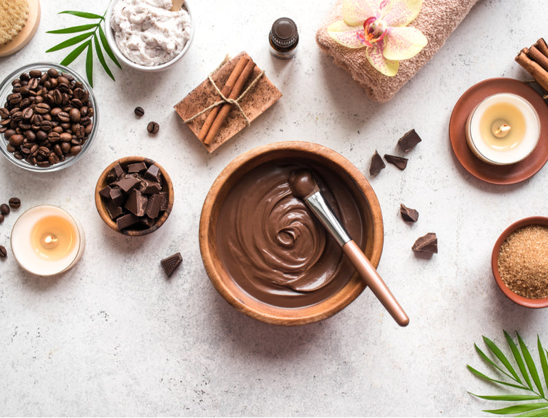Flavored chocolate soap for body and soul - Quragi