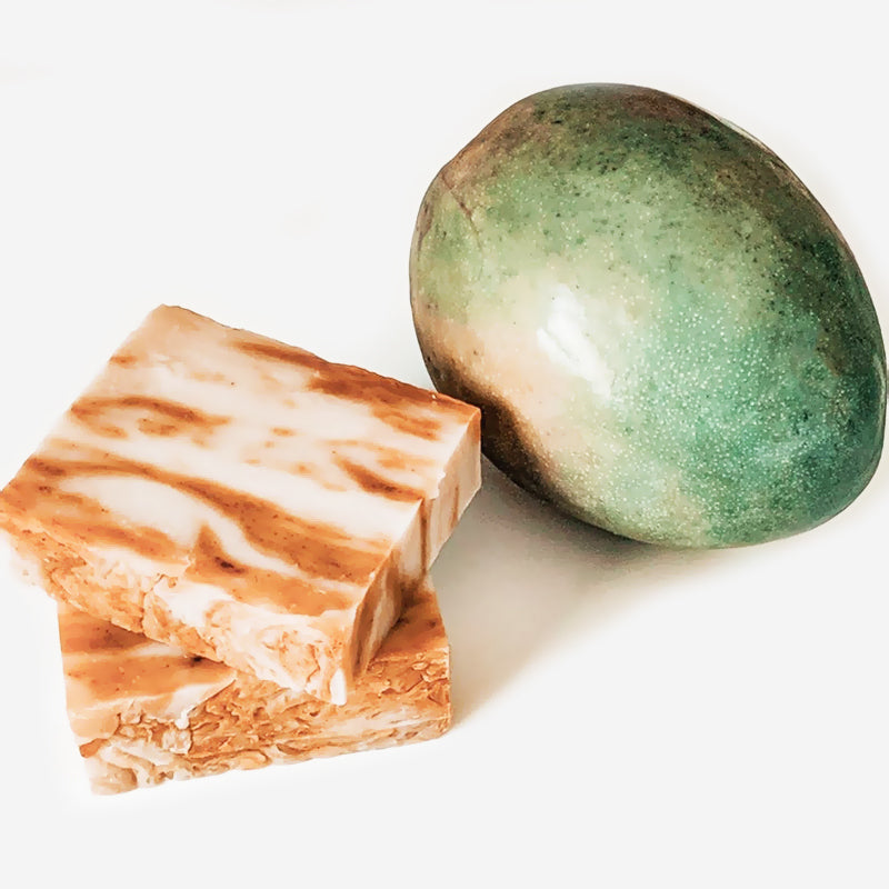 Natural Vegan Cold Processed Mango Guava Soap Bar
