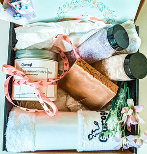 Gift Basket for Her, Spa gift for Mom, Miss you gift, Gift Box for Her, Happy Birthday Gift Box,Gift for Mom Gift, Custom Gift Box