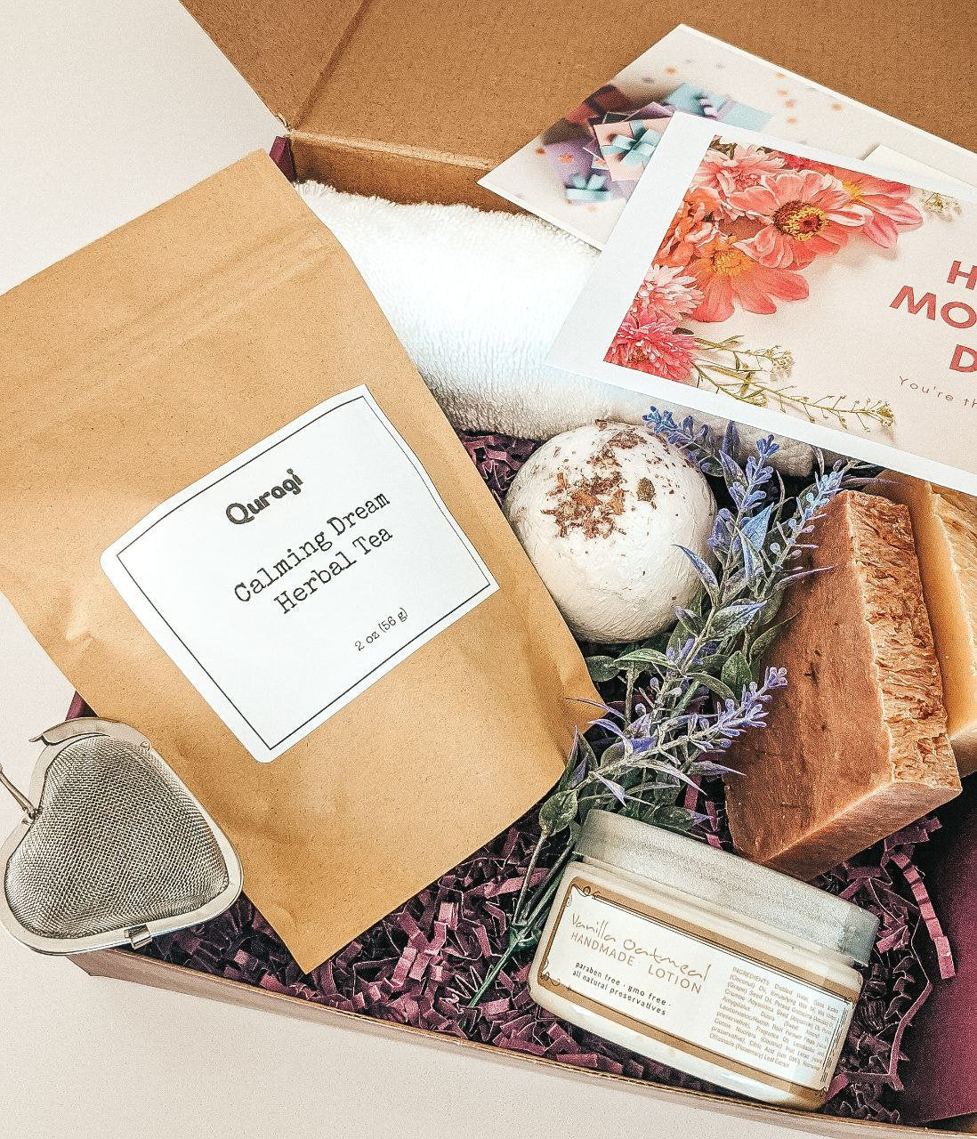 Christmas Gift Box, Miss You Gift, Gift for Mom Gift, Personalized Gift, Self Care Package, Thinking Of You, Spa Set, Gift Box for Her