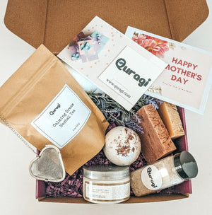 Gift for Mom Gift, Gift for Grandma, I Miss You Gift, Thinking Of You, Spa Set, Gift Box for Her, Spa Gift Set, Tea Gift Box