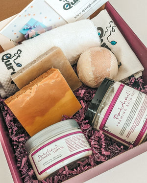 Spa Gift Box, Birthday gift for Her, Spa Gift Basket, Gift for Mom, Gift Box for Friend, Keep Calm Gift, Soap Bars, Mother's Day Gift