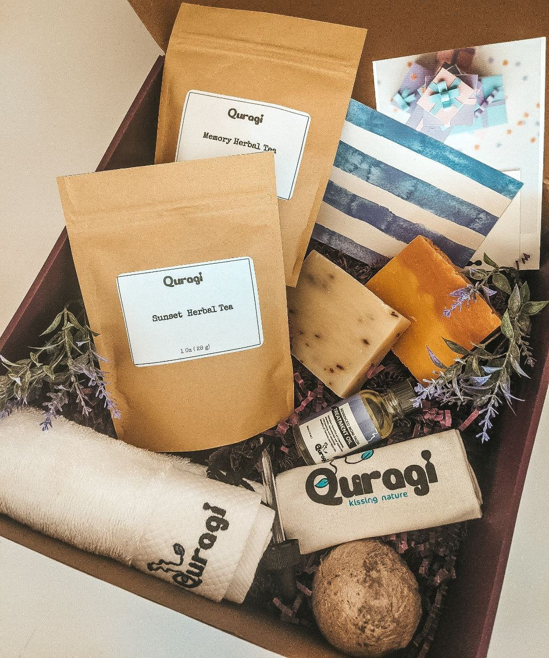 Personalized Gift, Self Care Package, Thinking Of You, Gift Basket, Gift Box for Her, Miss You Gift, Mother's Day Gift, Tea Gift, Home Spa