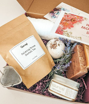 Home Spa Kit, Miss You Gift, Mother's Day Gift, Personalized Gift, Thinking Of You, Spa Set, Gift Box for Her, Long Distance Gift
