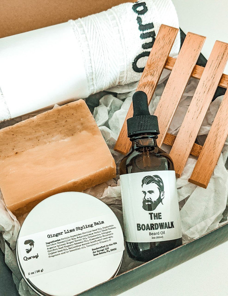 Father's Day Gift Box, Gift for Him, Spa Gift Box for Him, Gift for Grandpa, Beard Oil Gift, Gift Box for Him, Gift for papa