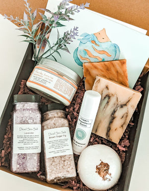 Personalized Birthday Bath and Body Gift Box