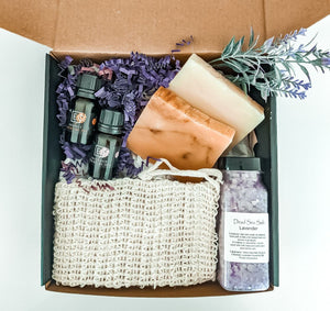 Bridesmaid Gift Box, New Mom gift, Shower gift Box, I miss you gift, Home Spa  Gift, Gift Box for Her, Birthday Presents