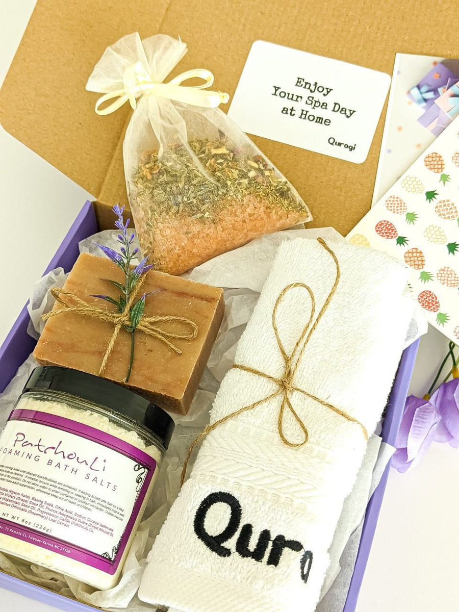 Care package for her, Christmas Gift, Spa Gift Set, Thank you gift box, Birthday gift for her, Spa Gift Set for Her, New mom gift