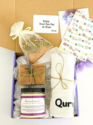 Thoughtful gift Box, Spa Gift Set, Thank you gift box, Birthday gift for her, Spa Gift Set for Her, Care package for her, Birthday Gift Box