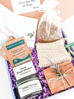 Gift Basket for her, Thank you gift, Gift for women, Spa gift set, Candle gift set, Birthday gift box, Doctor appreciation Basket