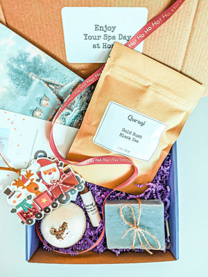 Gift for woman, Christmas Gift Box, Relaxation Spa Gift Set, Best Friend Gift, Holiday Gifts for Her, Small  Gift Box, Gift Basket