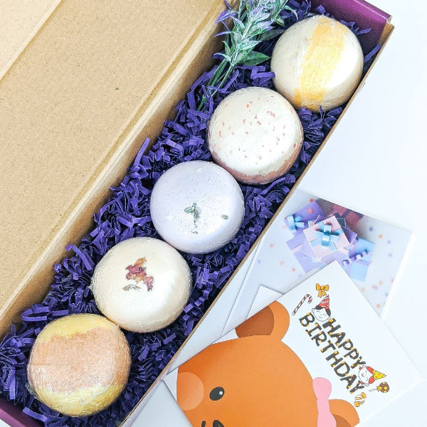 21st birthday Bath Bombs Gift Box