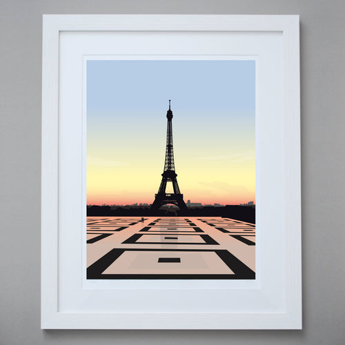 'Eiffel Tower' - Limited Edition Giclée Fine Art Print