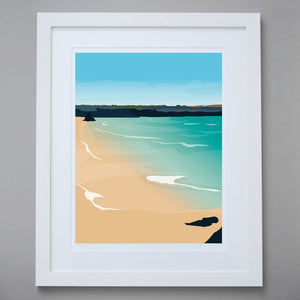 'Harlyn Bay' - Limited Edition Giclée Fine Art Print