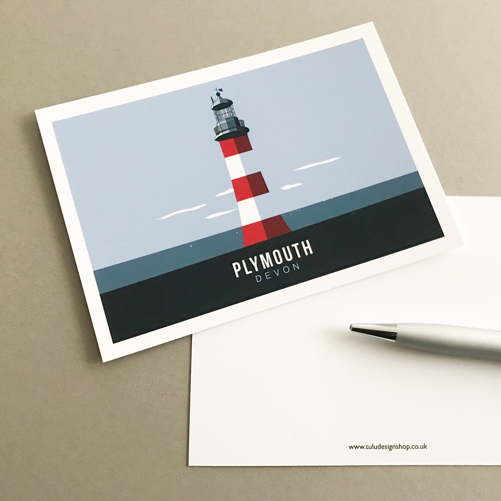 Smeaton's Tower Postcard