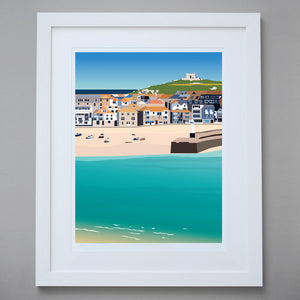 'St Ives' - Limited Edition Giclée Fine Art Print
