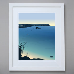 Image of Thurlestone Limited Edition Giclée Fine Art Print