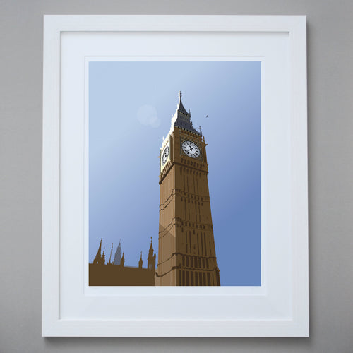 Image of Big Ben Limited Edition Giclée Fine Art Print