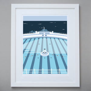 Image of Tinside Lido Limited Edition Giclée Fine Art Print