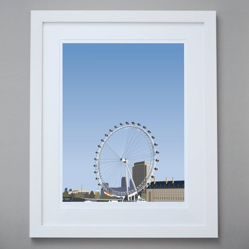 Image of London Eye Limited Edition Giclée Fine Art Print