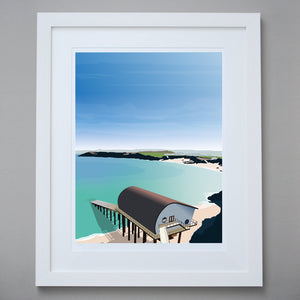 Padstow Lifeboat Station Print