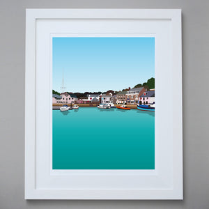 Image of Padstow Limited Edition Giclée Fine Art Print