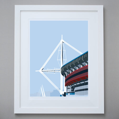 Image of the Principality Stadium Limited Edition Giclée Fine Art Print