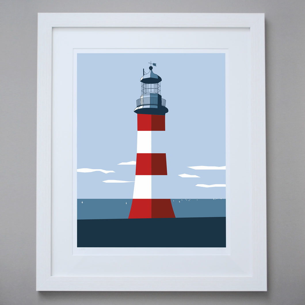 Image of Smeaton's Tower Limited Edition Giclée Fine Art Print