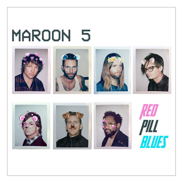 Red Pill Blues CD-Maroon 5