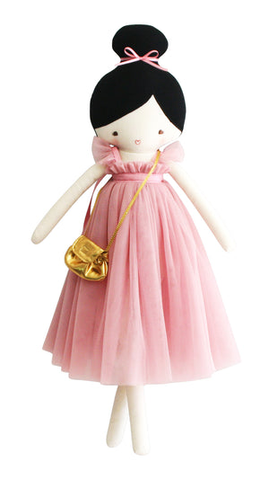 Alimrose Doll in blush dress