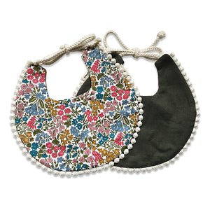 Liberty Print Reversible Bib
