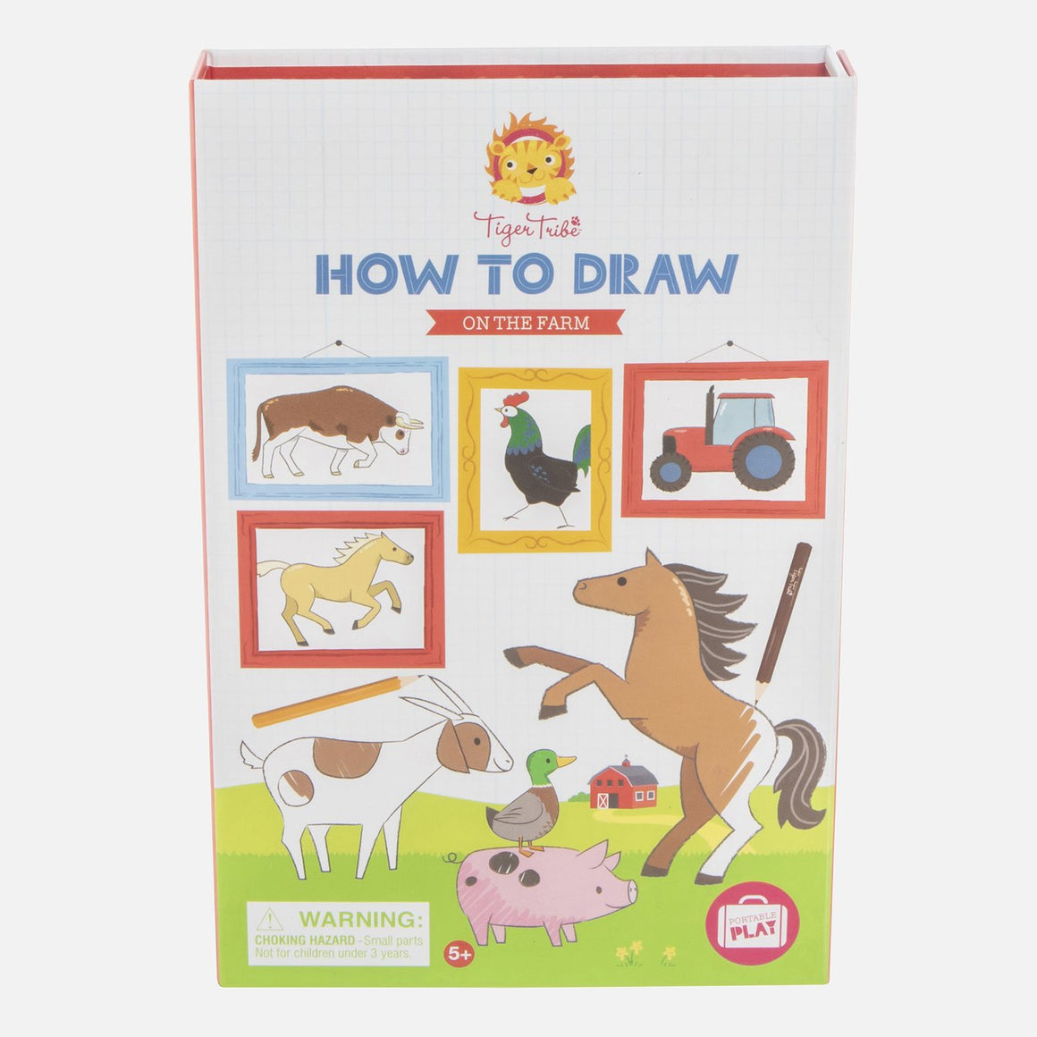 How to draw on the farm