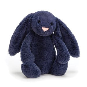 Navy Medium Jellycat Bunny