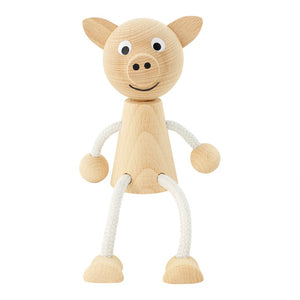 Wooden Pig Toy