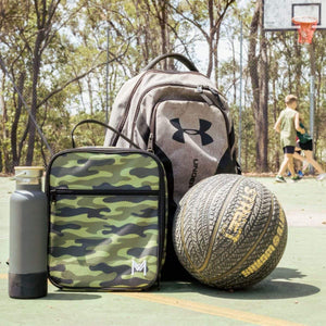 MontiiCo Insulated camouflage lunch bag