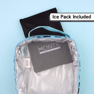 MontiiCo Insulated Cars lunch bag and Icepack