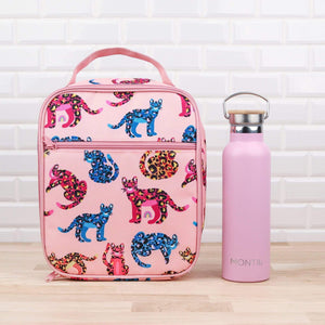 Insulated lunch bag jungle cats