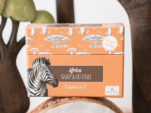african animal snap and go fish