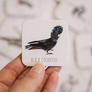 Australian Memory Card game- Black Cockatoo