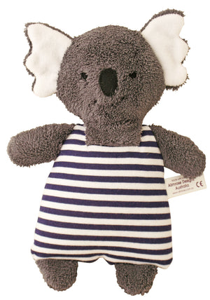 Koala Bear in Navy and white stripe