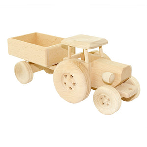 Wooden tractor- Esther