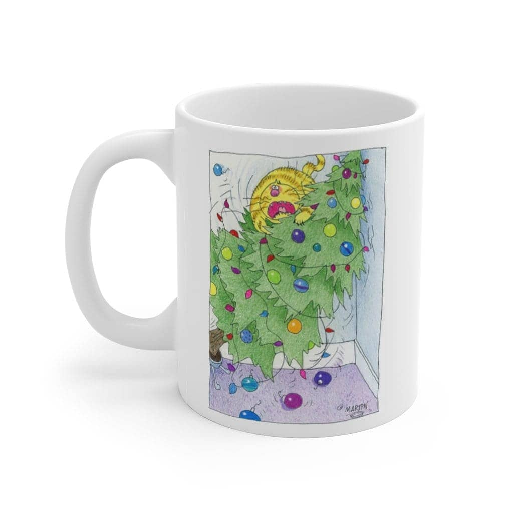 Cat in the Tree - Series One Coffee Mug 11oz