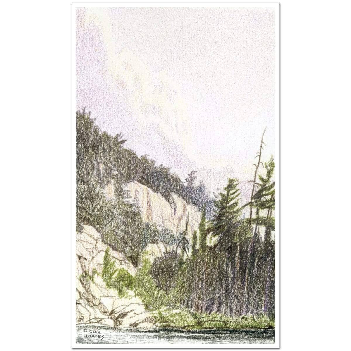 After the Storm in Temagami - Art Print