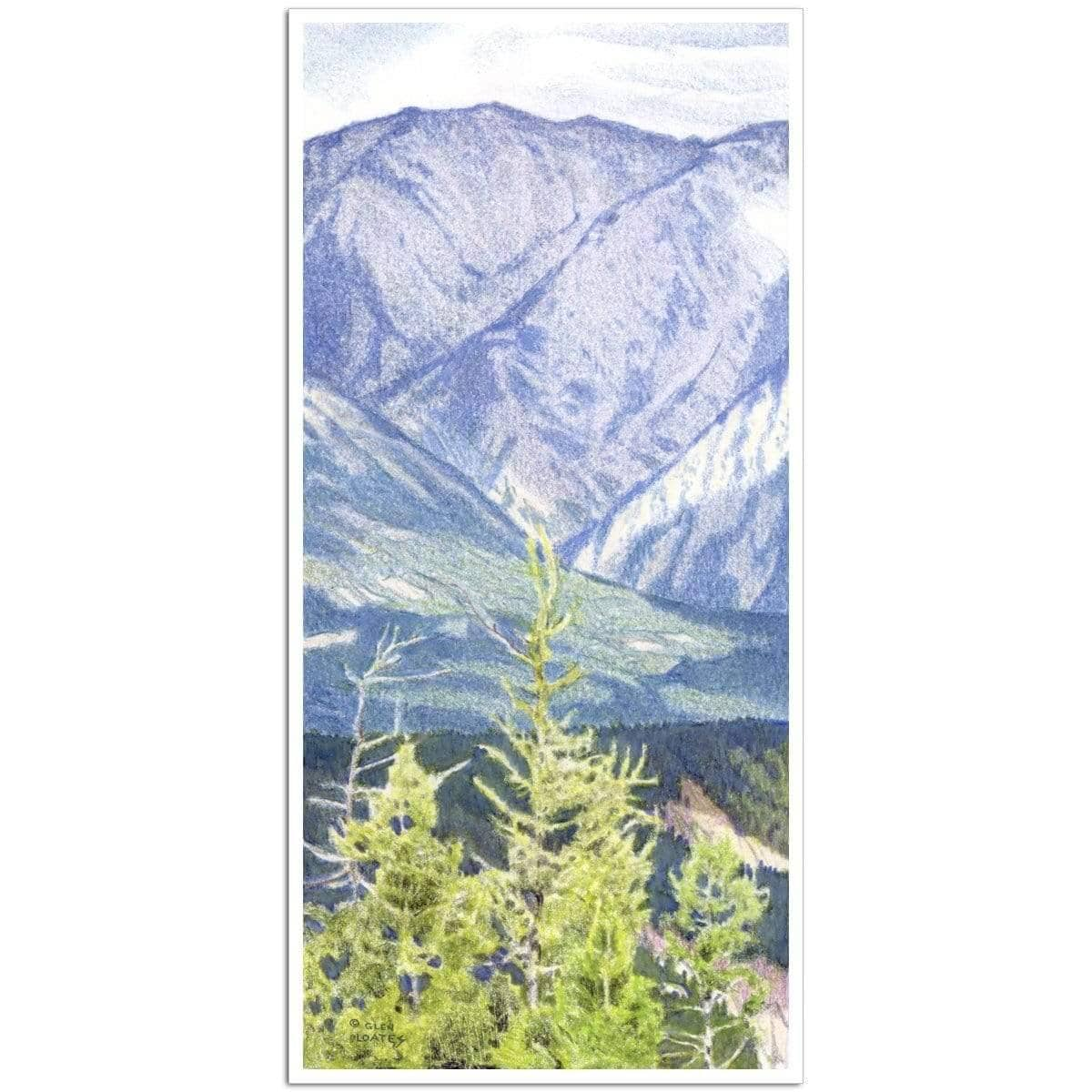 Fairholme Range Banff - Art Print - The Official Glen Loates Store