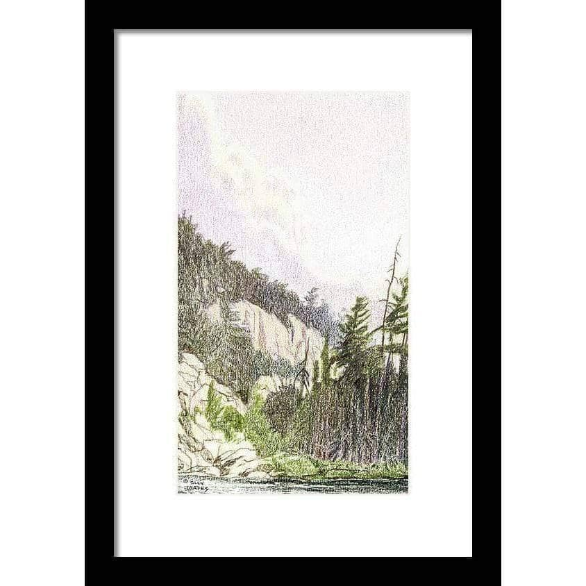 After the Storm in Temagami - Framed Print