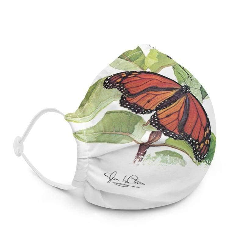 Monarch Butterflies - Premium Face Mask