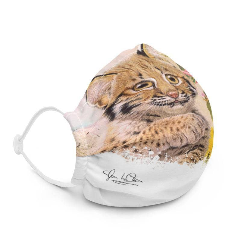 The Bobcat - Premium Face Mask | The Official Glen Loates Store